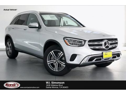 Iridium Silver Metallic Mercedes-Benz GLC 300.  Click to enlarge.