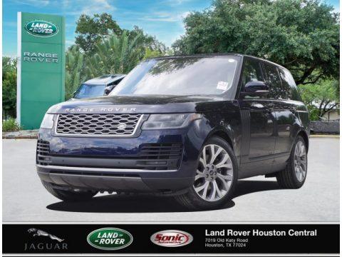 Portofino Blue Metallic Land Rover Range Rover HSE.  Click to enlarge.