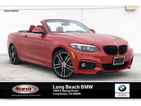 Melbourne Red Metallic BMW 2 Series 230i Convertible.  Click to enlarge.