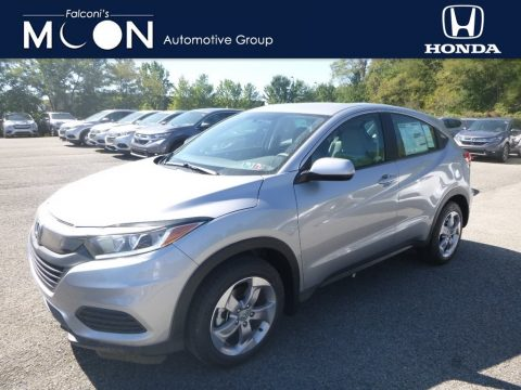Lunar Silver Metallic Honda HR-V LX AWD.  Click to enlarge.