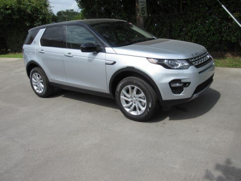 Indus Silver Metallic Land Rover Discovery Sport HSE.  Click to enlarge.