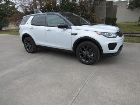 Yulong White Metallic Land Rover Discovery Sport HSE.  Click to enlarge.