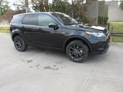 Narvik Black Land Rover Discovery Sport HSE.  Click to enlarge.