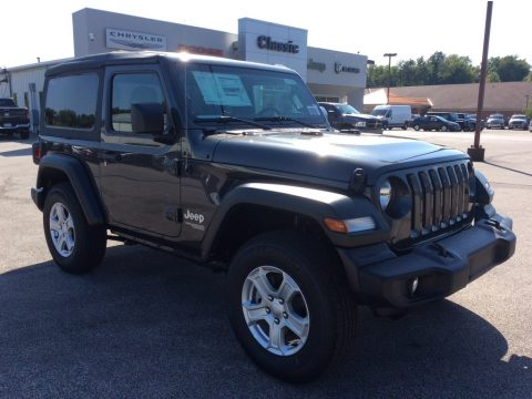 Granite Crystal Metallic Jeep Wrangler Sport 4x4.  Click to enlarge.