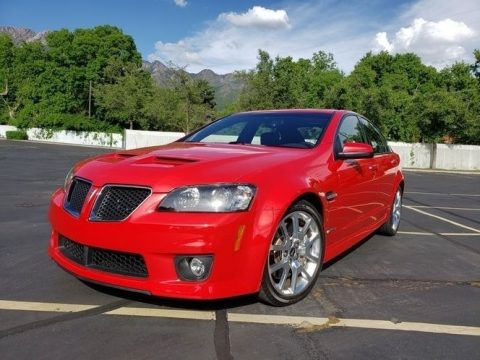 Liquid Red Pontiac G8 GXP.  Click to enlarge.