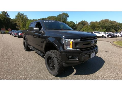 Agate Black Ford F150 XLT SuperCrew 4x4.  Click to enlarge.