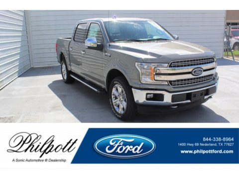 Silver Spruce Ford F150 Lariat SuperCrew 4x4.  Click to enlarge.