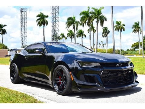 Black Chevrolet Camaro ZL1 Coupe.  Click to enlarge.