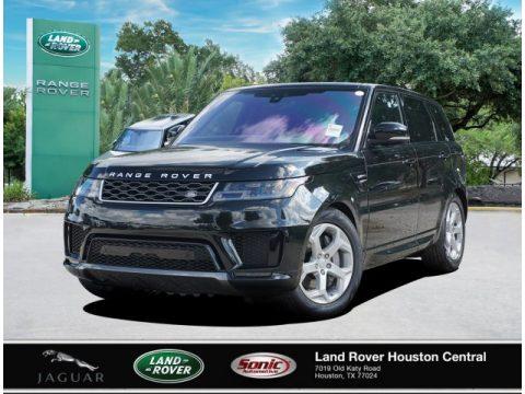 Santorini Black Metallic Land Rover Range Rover Sport HSE.  Click to enlarge.