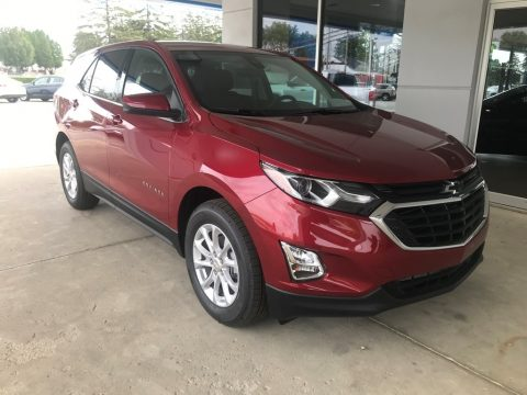 Cajun Red Tintcoat Chevrolet Equinox LT.  Click to enlarge.