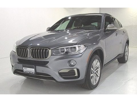 Space Gray Metallic BMW X6 sDrive35i.  Click to enlarge.