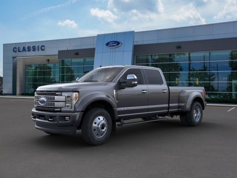 Magnetic Metallic Ford F450 Super Duty Platinum Crew Cab 4x4.  Click to enlarge.