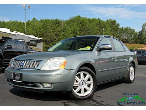 Silver Birch Metallic Ford Five Hundred Limited AWD.  Click to enlarge.