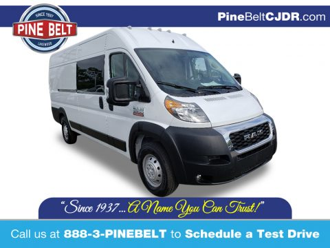 Bright White Ram ProMaster 3500 High Roof Cargo Van.  Click to enlarge.