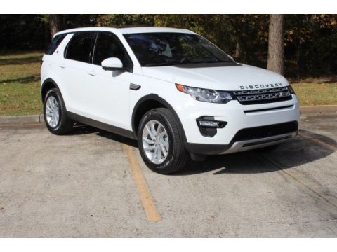 Fuji White Land Rover Discovery Sport HSE.  Click to enlarge.