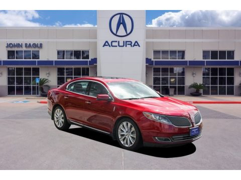 Ruby Red Lincoln MKS EcoBoost AWD.  Click to enlarge.