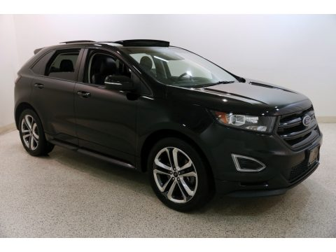 Shadow Black Ford Edge Sport AWD.  Click to enlarge.