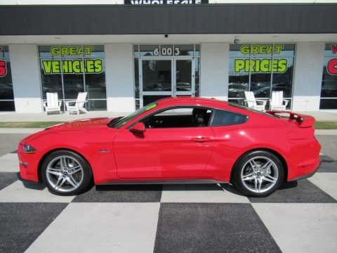 Race Red Ford Mustang GT Premium Fastback.  Click to enlarge.
