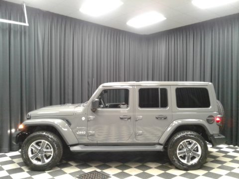 Sting-Gray Jeep Wrangler Unlimited Sahara 4x4.  Click to enlarge.
