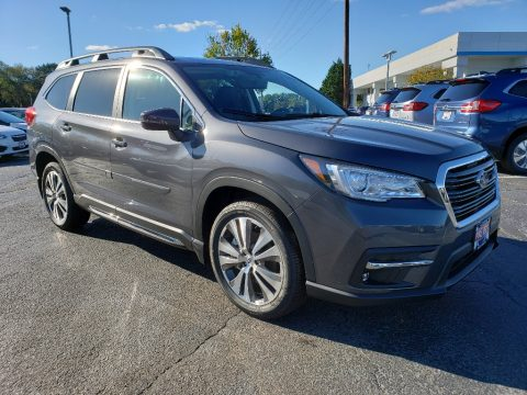 Magnetite Gray Metallic Subaru Ascent Limited.  Click to enlarge.