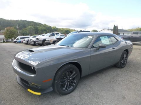 Destroyer Gray Dodge Challenger GT AWD.  Click to enlarge.