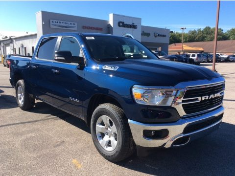Patriot Blue Pearl Ram 1500 Big Horn Crew Cab 4x4.  Click to enlarge.