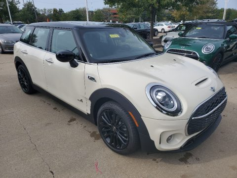Pepper White Mini Clubman Cooper S All4.  Click to enlarge.
