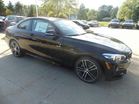 Black Sapphire Metallic BMW 2 Series 230i xDrive Coupe.  Click to enlarge.