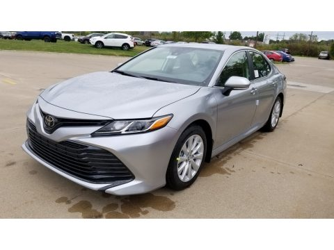 Celestial Silver Metallic Toyota Camry LE.  Click to enlarge.