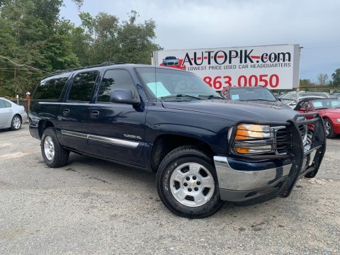 Deep Blue Metallic GMC Yukon XL SLT.  Click to enlarge.