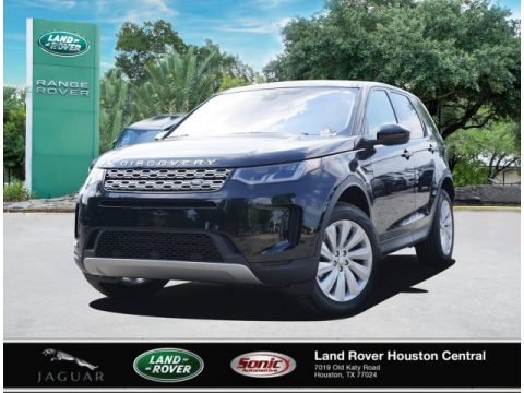 Santorini Black Metallic Land Rover Discovery Sport SE.  Click to enlarge.