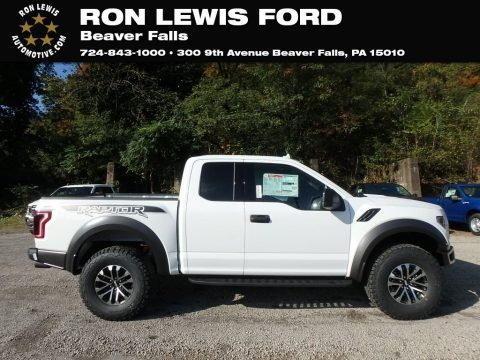 Oxford White Ford F150 SVT Raptor SuperCab 4x4.  Click to enlarge.