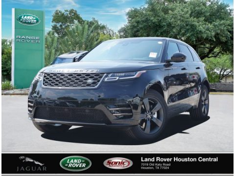 Santorini Black Metallic Land Rover Range Rover Velar R-Dynamic S.  Click to enlarge.