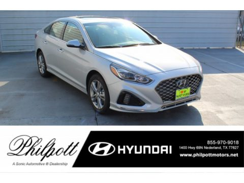 Symphony Silver Hyundai Sonata Limited.  Click to enlarge.