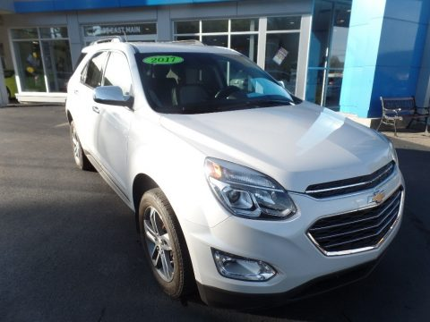 Iridescent Pearl Tricoat Chevrolet Equinox Premier AWD.  Click to enlarge.