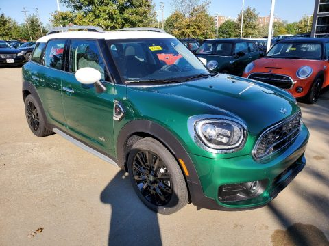British Racing Green IV Metallic Mini Countryman Cooper S All4.  Click to enlarge.