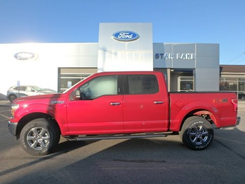 Ruby Red Ford F150 XLT SuperCrew 4x4.  Click to enlarge.