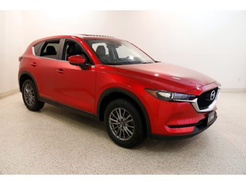 Soul Red Metallic Mazda CX-5 Touring AWD.  Click to enlarge.