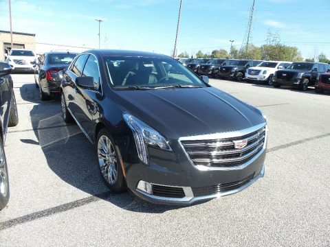 Stone Gray Metallic Cadillac XTS Luxury.  Click to enlarge.