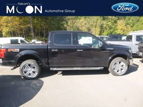 Agate Black Ford F150 Lariat SuperCrew 4x4.  Click to enlarge.