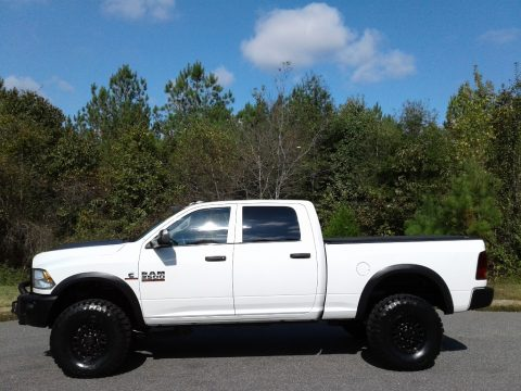 Bright White Ram 2500 Tradesman Crew Cab 4x4.  Click to enlarge.