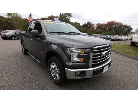 Lithium Gray Ford F150 XLT SuperCab 4x4.  Click to enlarge.