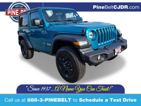 Bikini Pearl Jeep Wrangler Sport 4x4.  Click to enlarge.