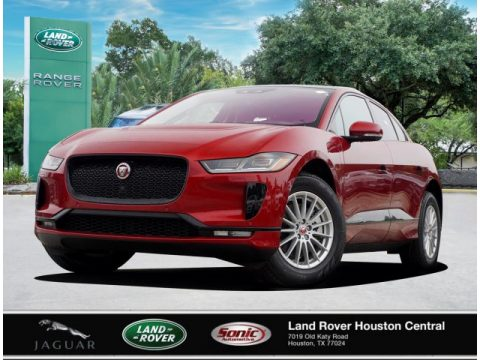 Firenze Red Metallic Jaguar I-PACE S.  Click to enlarge.