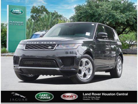 Carpathian Gray Premium Metallic Land Rover Range Rover Sport HSE.  Click to enlarge.