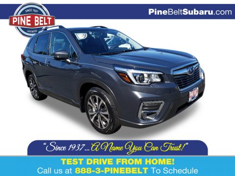 Magnetite Gray Metallic Subaru Forester 2.5i Limited.  Click to enlarge.