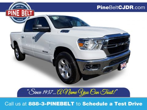 Bright White Ram 1500 Big Horn Crew Cab 4x4.  Click to enlarge.