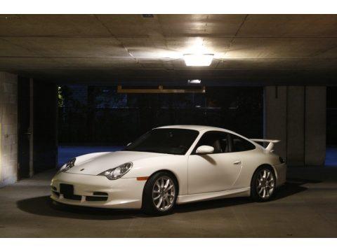 Carrara White Porsche 911 GT3.  Click to enlarge.