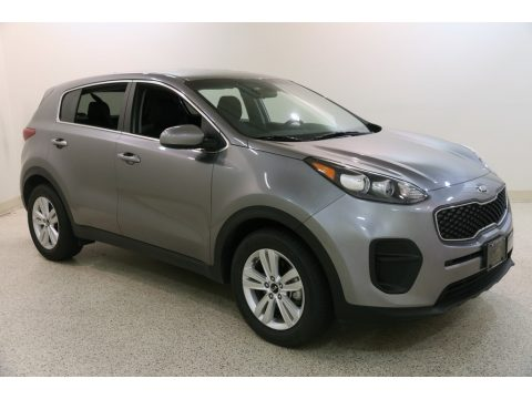 Mineral Silver Kia Sportage LX.  Click to enlarge.