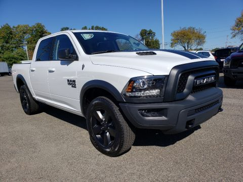 Bright White Ram 1500 Classic Warlock Crew Cab 4x4.  Click to enlarge.